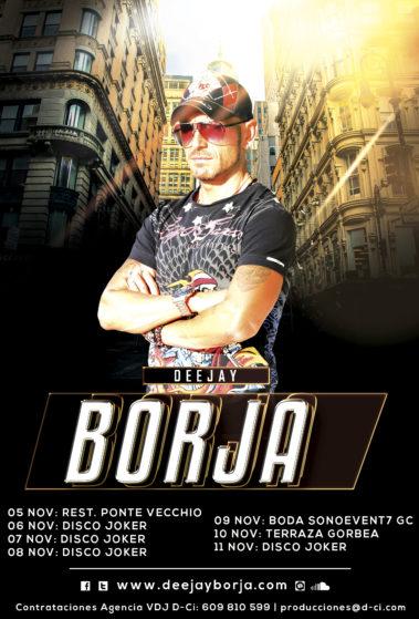 Cartel-Deejay-Borja-Agenda-1ª-Semana-Noviembre-2018-web