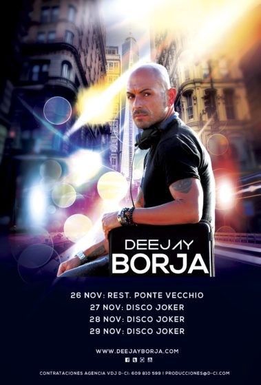 Cartel-Deejay-Borja-Agenda-4ª-Semana-Noviembre-2018
